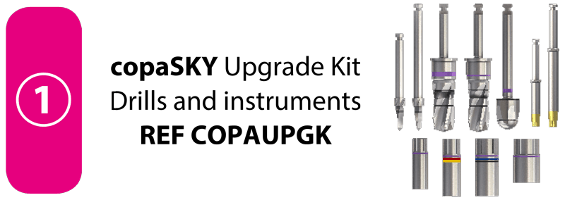 SKY OP Tray copaSKY Upgrade Kit