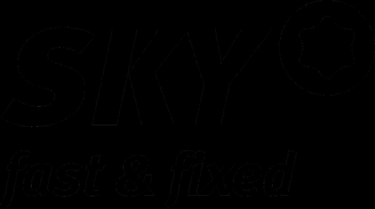 SKY fast&fixed logo