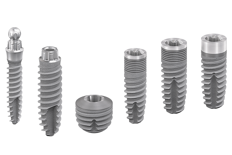 Titanium Implants by bredent-implants
