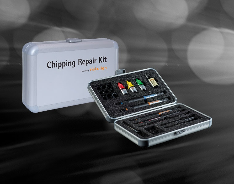 Chipping Repair Kit powered by visio.lign