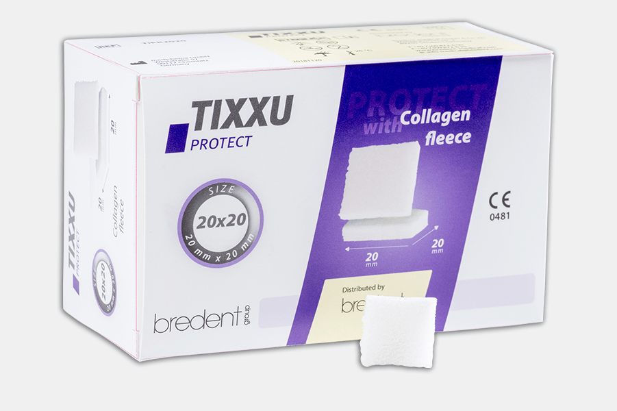 TIXXU Protect Collagen fleece t by bredent-group