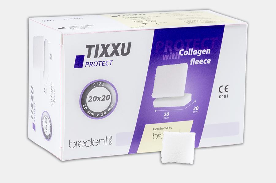 TIXXU Protect Collagen fleece t by bredent-group