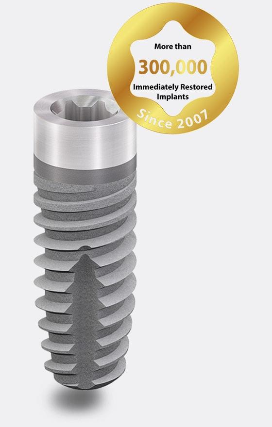 classicSKY implant immediate restoration