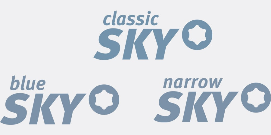 SKY Prosthetics logos